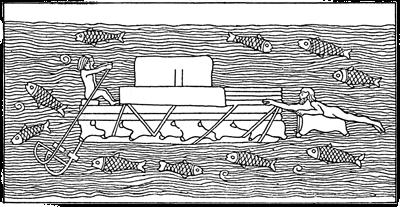 Assyria - Assyrian Kelek Raft Relief