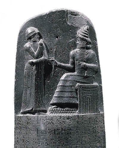 Hammurabi - Hammurabi Engraving on the Code of Hammurabi Tablet