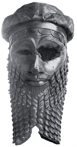 Ancient Artifacts - Sargon the Great Bronze Head