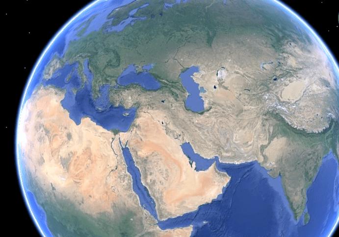 Mesopotamian Civilizations - Mesopotamia (Google Earth)