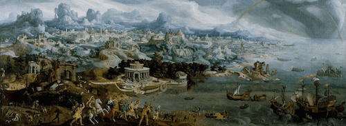 Ancient History - Abuduction of Helen (Maarten Heemskerck)