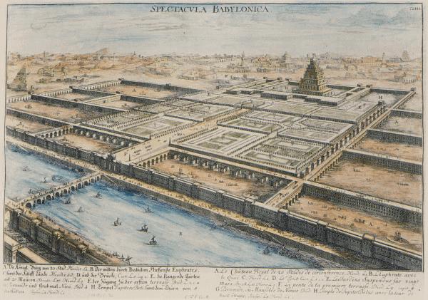 Babylon - Babylon (Fischer von Erlach 1721)