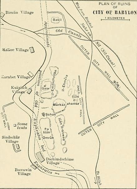 Babylon - Ruins of Babylon (1905)