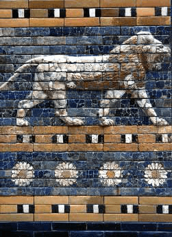Hanging Gardens of Babylon - Ishtar Gate Relief